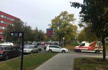 Santariškių medicinos miestelyje eismo taisyklių pažeidėjų netrūksta