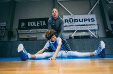 """Klubo """"Sintek-Jonava"""" fizinio rengimo treneris: komanda turi potencialo"""