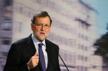 M. Rajoy: Ispanija sutiks su Belgijos sprendimu dėl Katalonijos lyderio ekstradicijos