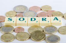 "Vyriausybė ""Sodrai"" skolina 550,7 mln. eurų"