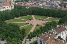 Liepos viduryje bus uždaryta Lukiškių aikštė