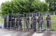 Žaliojo tilto skulptūras svarstoma perduoti Lietuvos dailės muziejui