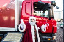 Kelionę po šalies mokyklas pradeda Kalėdų karavanas