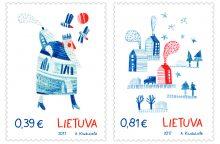 Lietuvos paštas Kalėdas pasitinka kvapiaisiais pašto ženklais