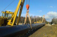 """""""Amber Grid"""" pradeda regioninės reikšmės dujotiekio rekonstrukciją"""