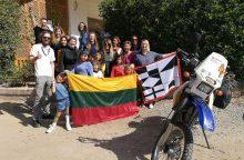 Keliautojas motociklu K. Košys sėkmingai pasiekė Hurgadą