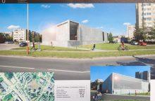Vilniečiai su architektais aptarė būsimo Fabijoniškių baseino projektą