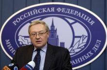 Rusija žada pirmoji neiškelti ginklų į kosmosą, ragina JAV į tai atsižvelgti