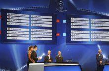 Ištraukti 2016-17 metų sezono Čempionų lygos grupių etapo burtai