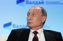 V. Putinas: NATO atmetė Rusijos siūlymą dėl lėktuvų virš Baltijos jūros