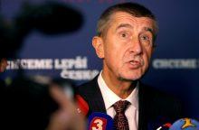 A. Babišo vadovaujama Čekijos vyriausybė pralaimėjo balsavimą dėl pasitikėjimo
