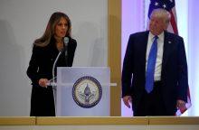 Liko viena diena: D. Trumpas atvyko į Vašingtoną