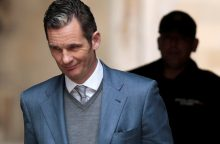 Ispanijos karaliaus Felipės VI svainis pradeda atlikti laisvės atėmimo bausmę
