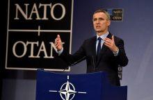 J. Stoltenbergas: kitas NATO viršūnių susitikimas vyks 2018 metais Briuselyje