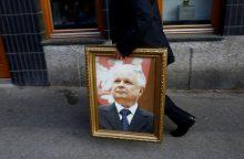 LLRA Vilniuje ir Maišiagaloje siūlo įamžinti žuvusio Lenkijos prezidento atminimą