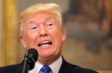 JAV teisėsauga gavo prezidentą D. Trumpą kompromituojantį pokalbio įrašą