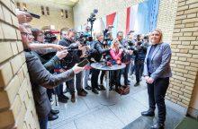Žiniasklaida: kitą savaitę gali subyrėti Norvegijos vyriausybė