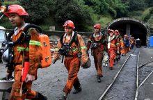 Kinijoje per sprogimą anglių kasykloje žuvo 21 žmogus