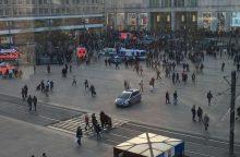 Vokiečių policija įspėjo interneto įžymybes dėl Berlyne kilusių muštynių