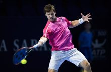 Tenisininkas R. Berankis Prancūzijoje iškopė į aštuntfinalį