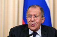 S. Lavrovas tikisi, kad Talibanas dalyvaus Afganistano konferencijoje Maskvoje