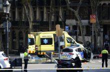 Per teroro išpuolį Barselonoje žuvo 13 žmonių