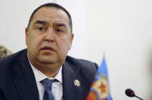 Ukrainos separatistų lyderis kaltina buvusį ministrą bandymu surengti perversmą