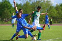 """Vilniaus """"Žalgiris"""" susigrąžino Lietuvos futbolo A lygos lyderio poziciją"""