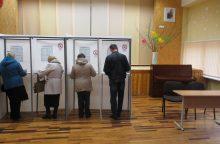 Iš anksto balsavo daugiau nei 2,5 proc. rinkėjų
