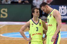 """Eurolyga: """"Barcelona"""" sutriuškino """"Gran Canaria"""" komandą"""