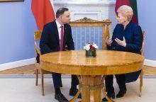 D. Grybauskaitė: Lietuva palaikys Lenkiją ginče su EK