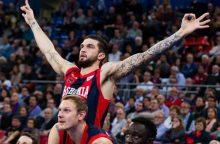 """""""Baskonia"""" krepšininkai išplėšė pergalę Stambule"""
