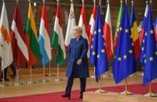 ES vadovai sutarė pratęsti sankcijas Rusijai