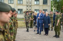 Nyderlandų kariai Lietuvoje bus dar dvejus metus