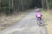 Nyderlanduose sukurta programėlė, neleidžianti naudotis telefonu važiuojant dviračiu