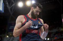 """Eurolyga: """"Baskonia"""" nugalėjo """"Fenerbahče"""" ekipą ir pratęsė seriją"""