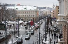 Dėl planuotų darbų savaitgalį sostinėje  bus laikinų eismo ribojimų