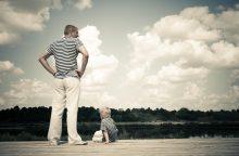 Daugėja vyrų, išeinančių vaiko priežiūros atostogų