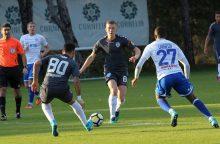 """""""Stumbro"""" futbolininkai sužaidė lygiosiomis su Maskvos """"Dinamo"""""""