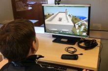 Bibliotekoje moksleivius džiugina žaismingos ir inovatyvios edukacijos
