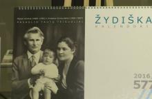 """Metų geriausiu kalendoriumi išrinktas """"Žydiškas kalendorius"""""""