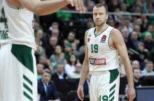 Krepšininko L. Lekavičiaus komanda Graikijoje šventė lengvą pergalę