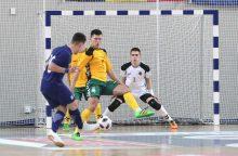 19-mečių salės futbolo rinktinė Europos čempionato atrankoje pralaimėjo graikams
