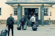 Lietuvos futbolo rinktinė atvyko į Vokietiją