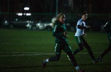 """""""Kauno Žalgirio"""" moterų komanda rengiasi Baltijos futbolo lygos startui"""