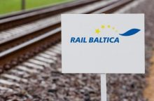 """""""RB Rail"""" vadovė nesureikšmina neigiamo požiūrio į """"Rail Balticą"""" Estijoje"""