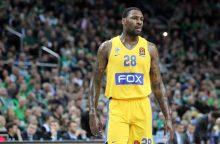 """R. Kurtinaičio auklėtiniai pralaimėjo """"Maccabi"""" krepšininkams"""