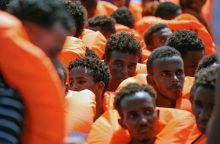 Prie Ispanijos krantų išgelbėta daugiau kaip 430 migrantų