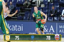 """""""Nevėžio"""" krepšininkai pralaimėjo Turkijos komandai"""
