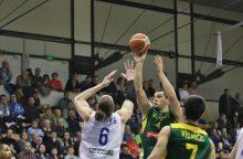 """""""Nevėžis"""" FIBA Europos taurėje pralaimėjo trečią sykį iš eilės"""